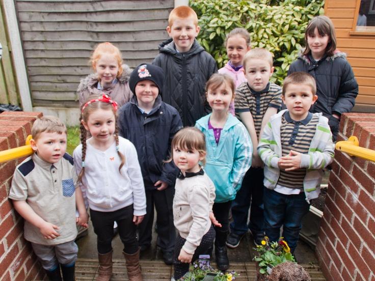 Local residents take part in a Prescot dream scheme at Highfields Sheltered Scheme