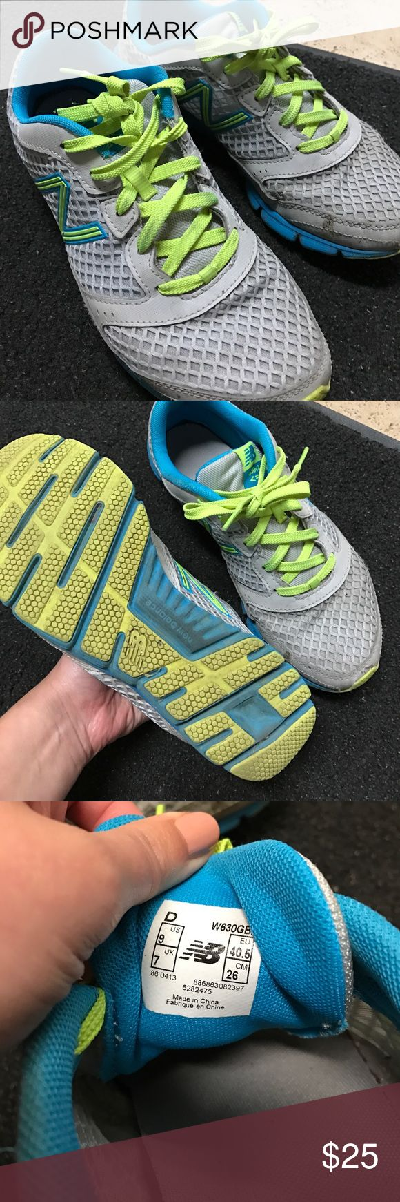 New balance recycled shoes - New Balance Gray Neon Green Sneakers