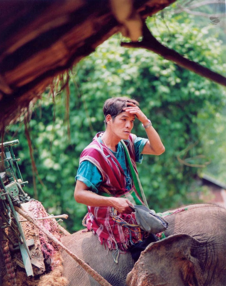 A man of the Karen people of Thailand and Burma.
