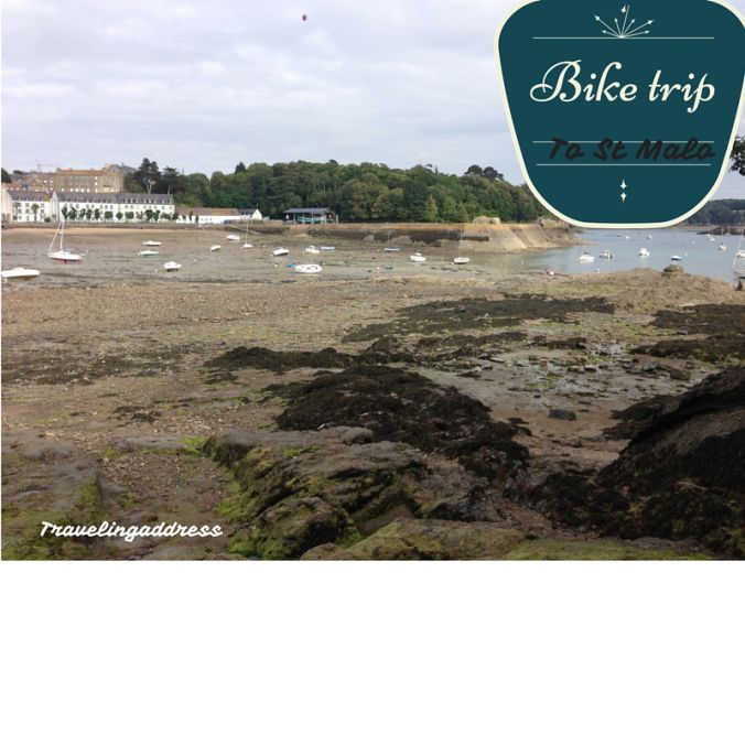 bike trip to st malo, france