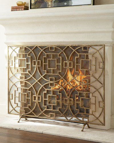 17 best fireplace screens images on pinterest fire places