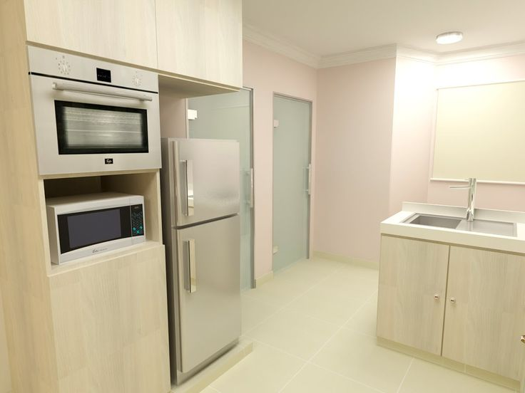 F Guinto Portfolio Modern Country Style Hdb 3 Room Flat Interior Design Pinterest Flats