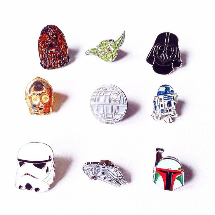 Vintage Star Wars Pins