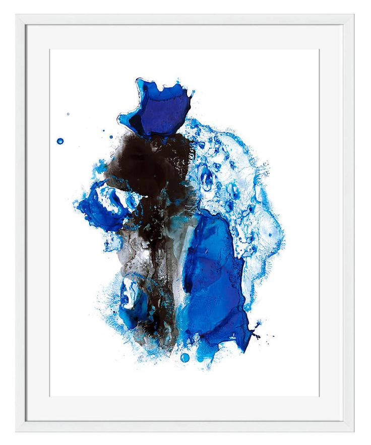 Surya Cobalt Expanse IV Framed Art The interplay of bold ebony and brilliant blue creates an artwork that is both dynamic and hypnotic. The Cobalt Expanse IV Framed Art catches the eye when included among a wall gallery of unique, eclectic artworks; as a standalone, the artwork captures the imagination with colors that eschew soft and subdued for striking and strong.