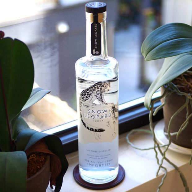 Socially Conscious Snow Leopard Vodka: A new luxury spirit that donates a percentage of its proceeds to conservation