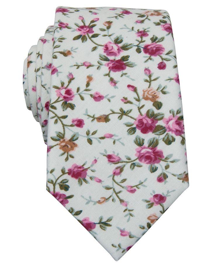 Bar Iii Carnaby Collection Tye Fl Skinny Tie Ties Pocket Squares Men