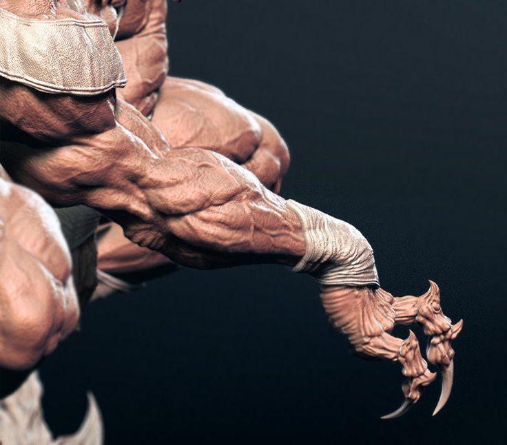 Spider Man , se won kang on ArtStation at https://www.artstation.com/artwork/58Paw