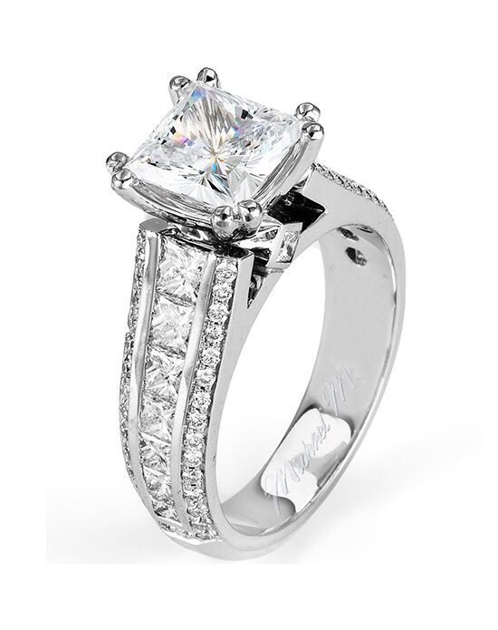 Wedding ring platinum metal