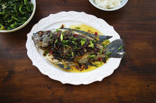 Steamed Tilapia With Spicy Oyster Sauce - Seasaltwithfood