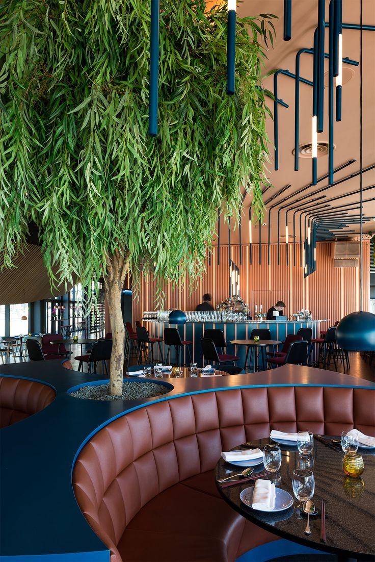 Interior by radiusdesign.no at Ling Ling restaurant & cocktailbar in Oslo, Norway.
