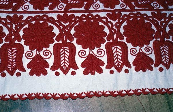 hugarian ebrodariey | Hungarian embroidery made by Margaret Horvath- Port Orange, Florida