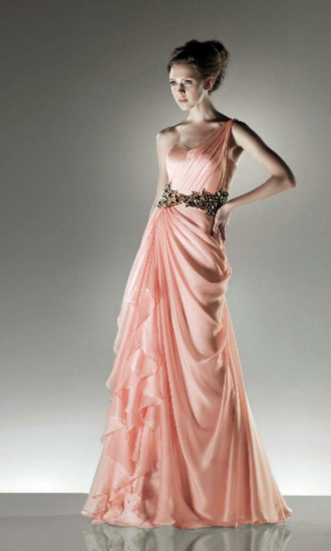Mejores 62 imágenes de One Shoulder Prom Dresses en Pinterest | Un ...