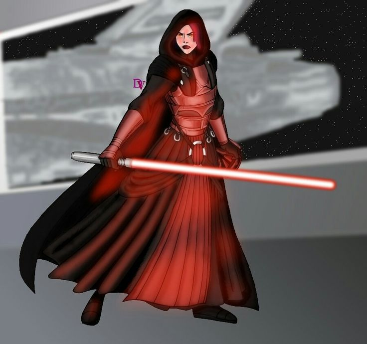 Darth Traya. DeviantArt Revan_Dark Lady of the Sith by DarthVandola Images  may be subject to