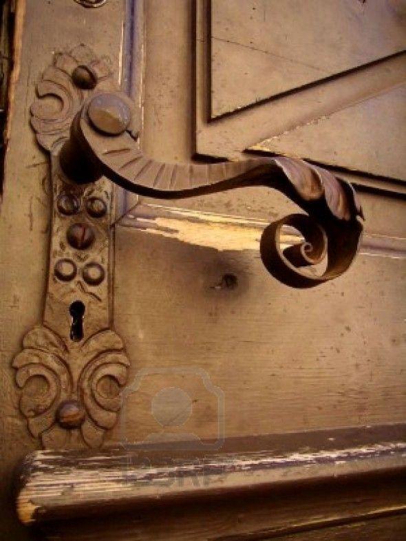 antique door - Antique Door Hardware