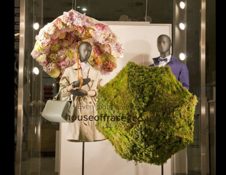 House Of Fraser Spring 2014 - Sarah Feather Design - window & retail displays