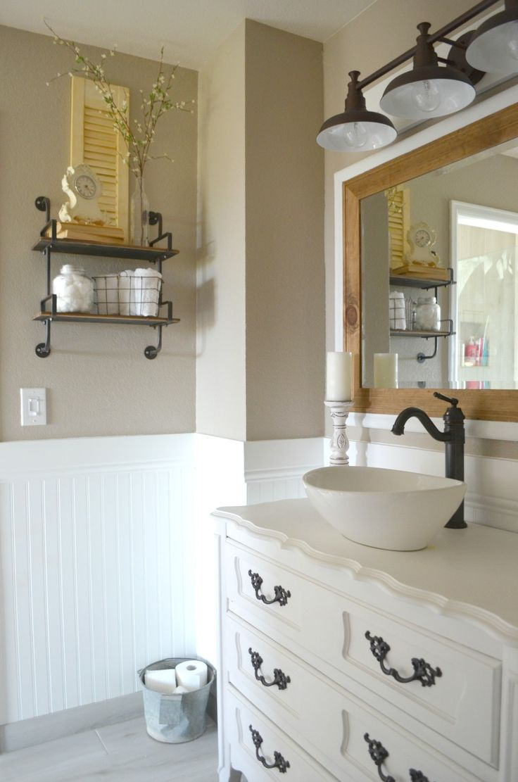 Farmhouse Bathroom Ideas Alluring Best 25 Farmhouse Bathroom Accessories Ideas On Pinterest Design Ideas