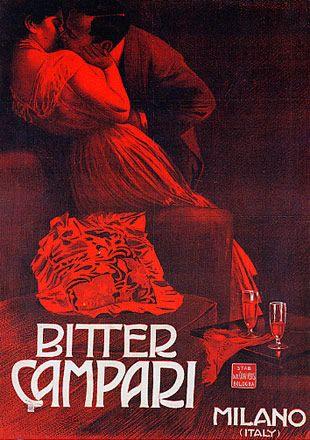 Bitter Campari , Milano 1901
