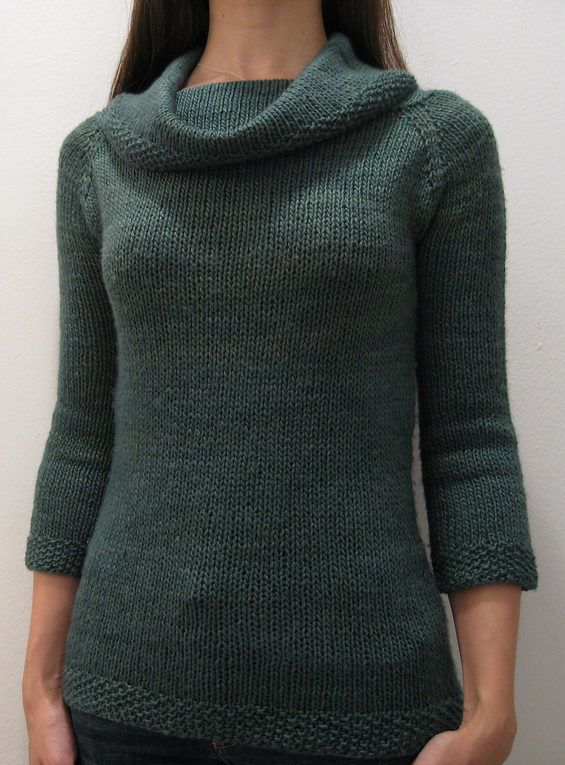 Free Knitting pattern for Francis Revisited Sweater