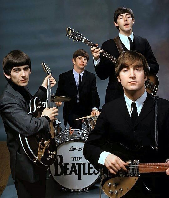 The Beatles were an English rock band, formed in Liverpool in 1960. With members John Lennon, Paul McCartney, George Harrison and Ringo Starr, they became widely regarded as the foremost and most influential act of the rock era. Their hairstyle, unusually long for the era and mocked by many adults,  became an emblem of rebellion to the burgeoning youth culture.