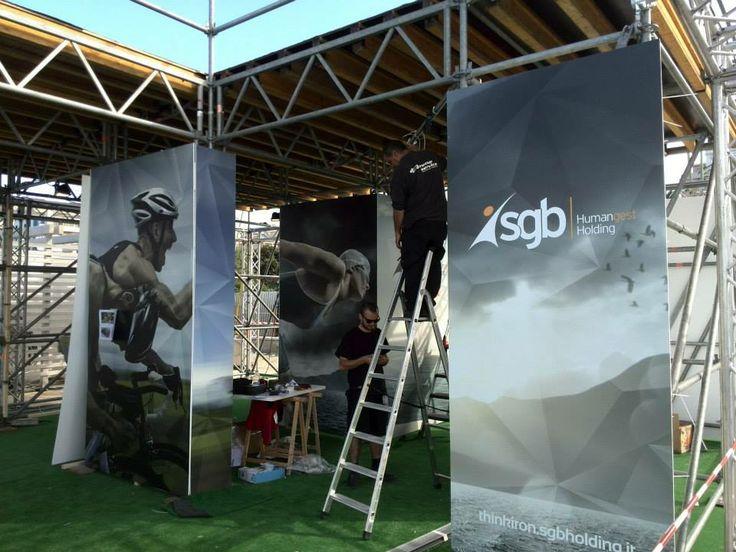 Allestimenti Ironman Pescara 70.3 2014