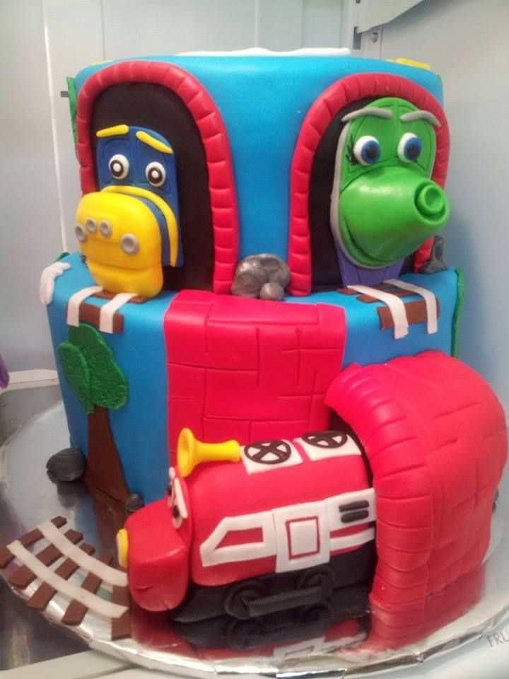 Best Birthday Cake For Adam Images On Pinterest Birthday Party - Chuggington birthday cake