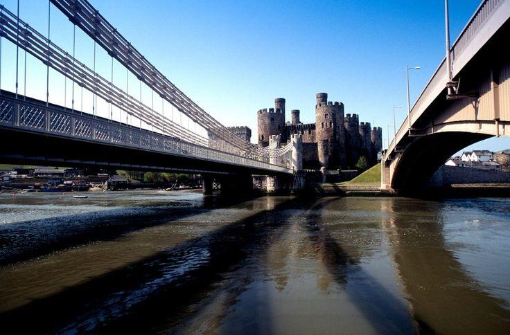 Pays de Galles: Circuit groupe - De Conwy à Gower