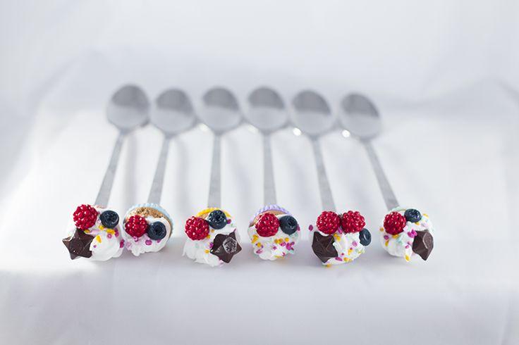 Essmes wyroby handmade: Słodkie łyżeczki