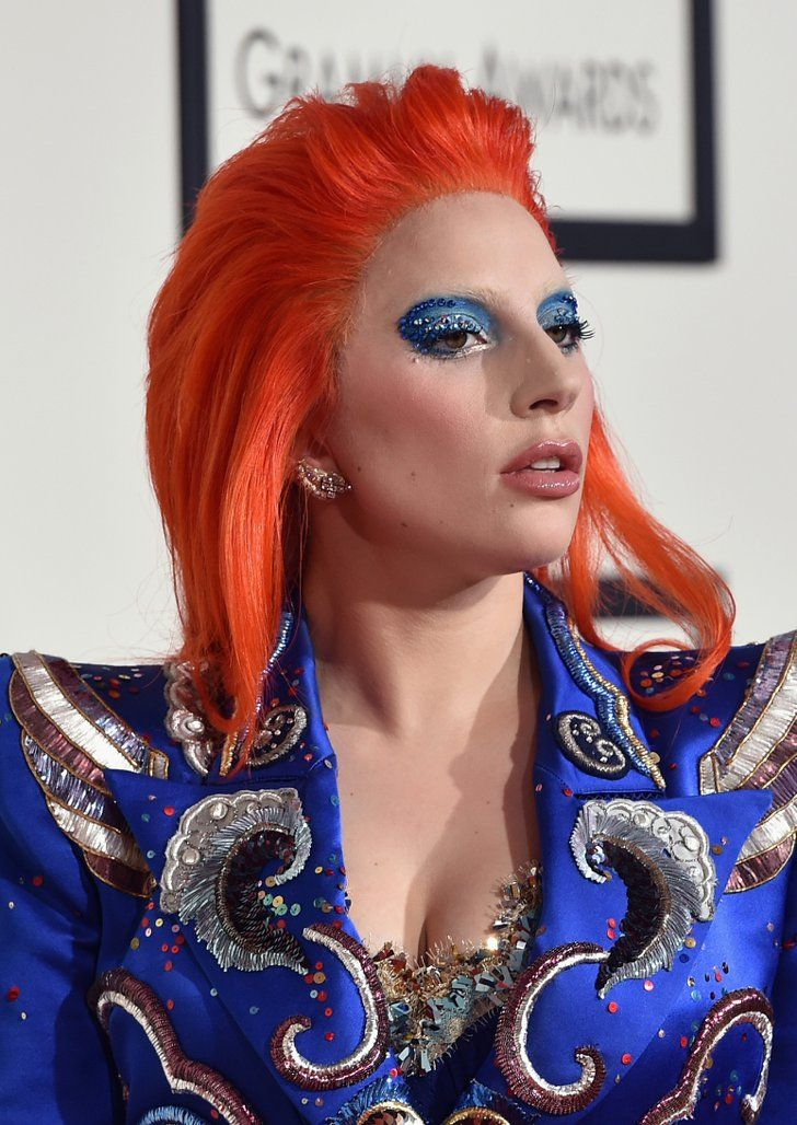 Pin for Later: Every Gorgeous Beauty Look From the Grammys Red Carpet Lady Gaga