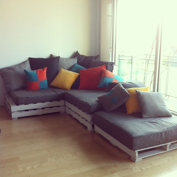 Pallet couch pallets n more pallets pinterest palets for Couch 0 interest
