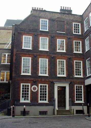 London, Holborn & The Inns of Court, Dr. Johnson's House