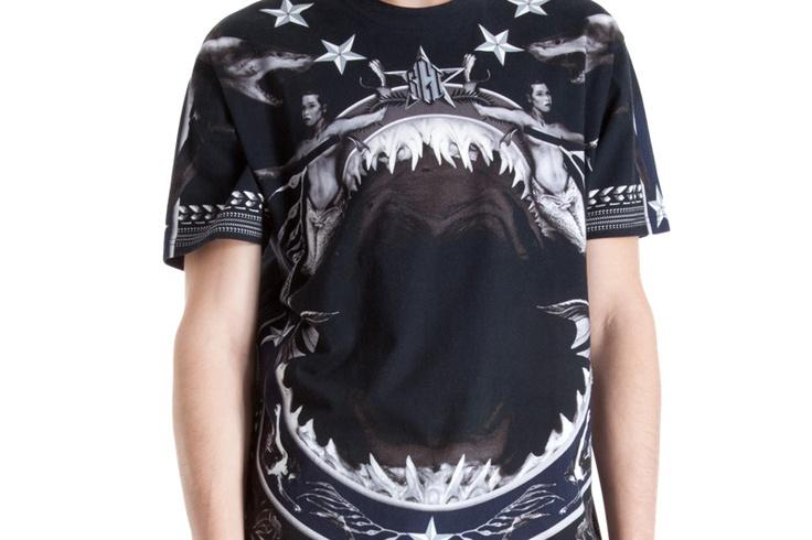 Givenchy Shark Jaw T Shirt Nysohon New York No Hos