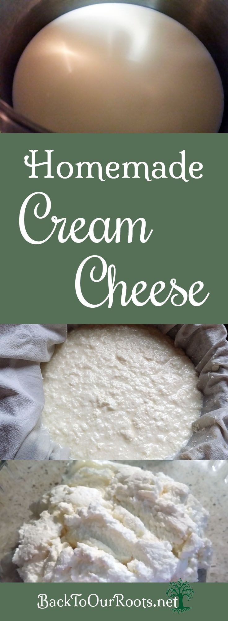 Easy Homemade Cream Cheese