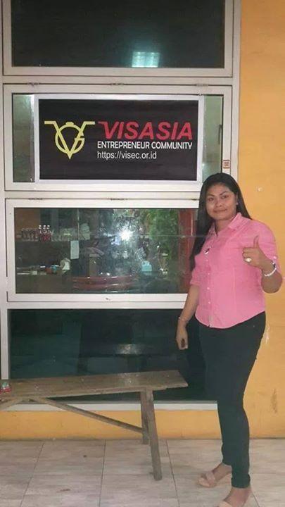Visasia Entrepreneur Community - Cafe AWH Jl. Pengayoman Pondok Hijau Makassar, SULSEL