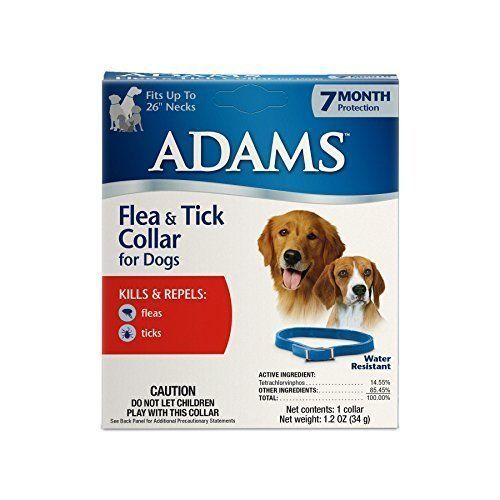 Flea and Tick Collar for Dogs Provides 7-Month Protection Against Fleas & Ticks #Adams
