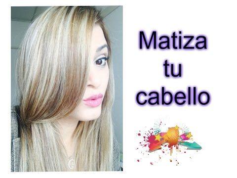 SHAMPOO Matizador CASERO - YouTube