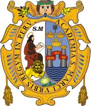 The National University of San Marcos ( Spanish : Universidad Nacional Mayor de San Marcos , UNMSM ) is the most important and respected higher-education institution in Peru . It consistently ranks among the top two universities in the country.       Its main campus, the University City, is located in Lima . It was chartered on May 12, 1551, by a royal decree signed by Charles V, Holy Roman Emperor , which makes it the oldest officially established university in the Americas and, as such…
