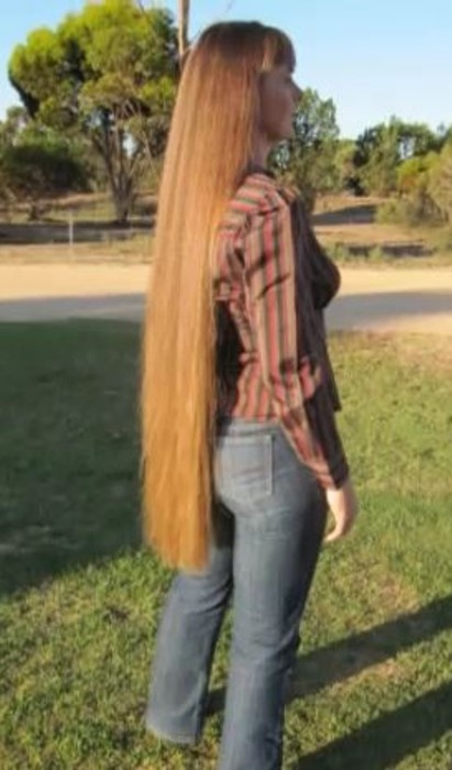 Amazing beyond classic length hair, beautiful in the ...