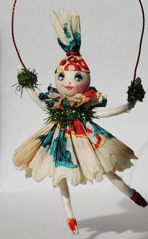 11 best vintage craft ideas images on pinterest for Vintage christmas craft supplies