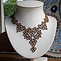 2e Atelier dentelle de perles/2nd Lace Workshop/2ая Мастерская по Ажуру - Blog collectif d'activités créatives en dentelles de perles
