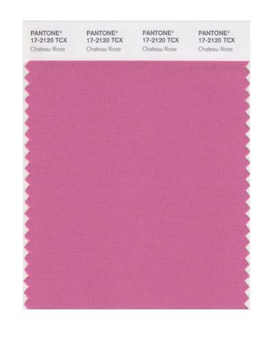 PANTONE SMART 17-2120X Color Swatch Card, Chateau Rose Pantone. Lightly softened, more cool tone.