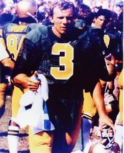 "Joe Montana - Notre Dame Football Legend. Like the Irish? Be sure to check out and ""LIKE"" my Facebook Page https://www.facebook.com/HereComestheIrish Please be sure to upload and share any personal pictures of your Notre Dame experience with your fellow Irish fans!"