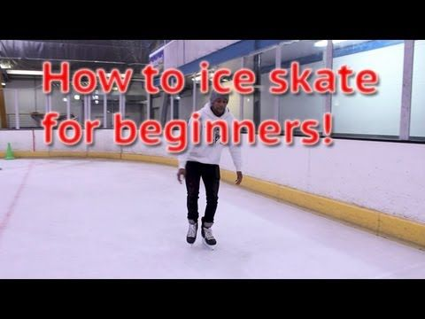 ▶ How To Ice Skate And Glide For Beginners - Skating 101 For The First Time Learn To Skate Tutorial - YouTube