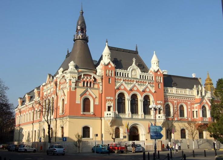 Palatul Episcopiei Greco-Catolice in Oradea.