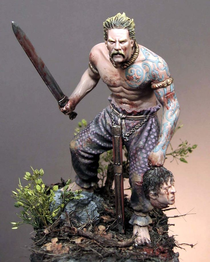 602 best images about miniatures on pinterest for Saxon warrior tattoos