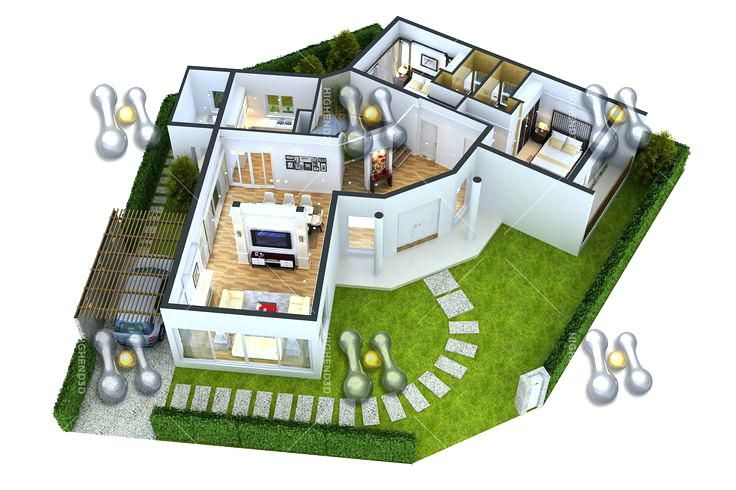 Tremendous Simple 3D House Design Simple House Designs Plan Small House Interior Design Ideas Gentotthenellocom
