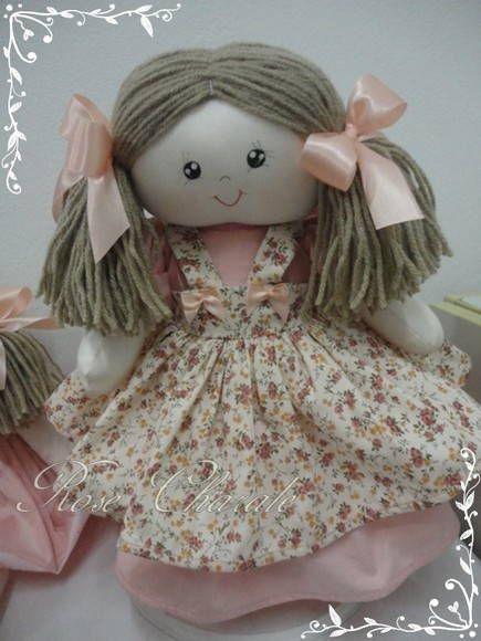 Boneca Camponesa | Rose Charale Bonecas de Pano | Elo7