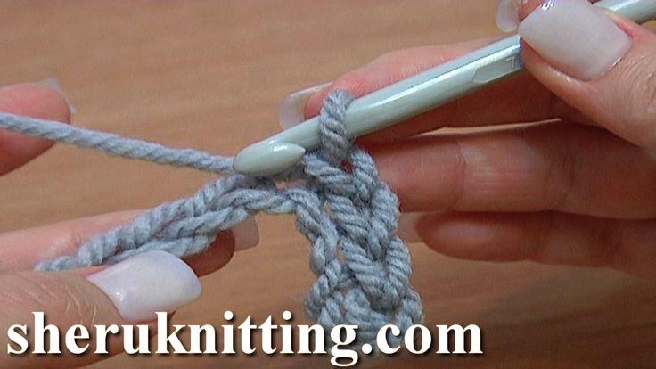 stitch work | Slip Stitch Work Through Chain Stitches Tutorial 10 Crochet For ...