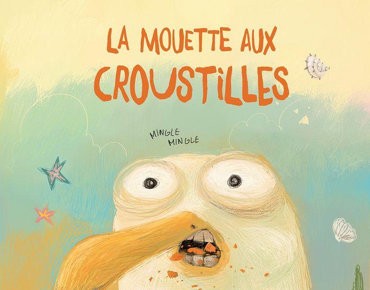 Un article de Louisanne Lethiecq «La mouette aux croustilles» est un album splendide, tant sur le plan graphique que sur le thème abordé.
