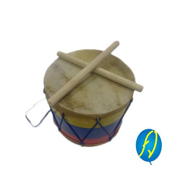 TAMBOR TRICOLOR #2, un producto más de Piñatería Fiesta Virtual de Colombia - lo puedes ver en http://bit.ly/1U5gDsT. #FiestaVirtual