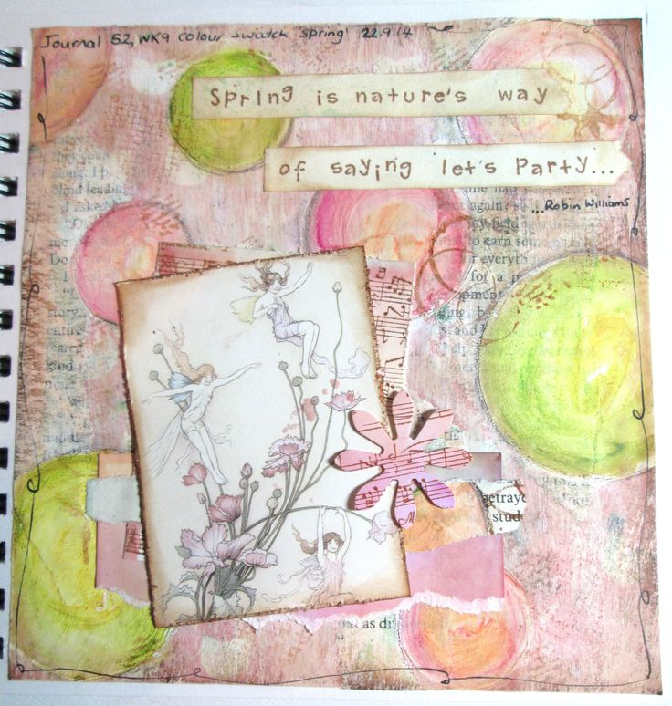 Journal 52 2014 - wk 9 Colour swatch (spring)